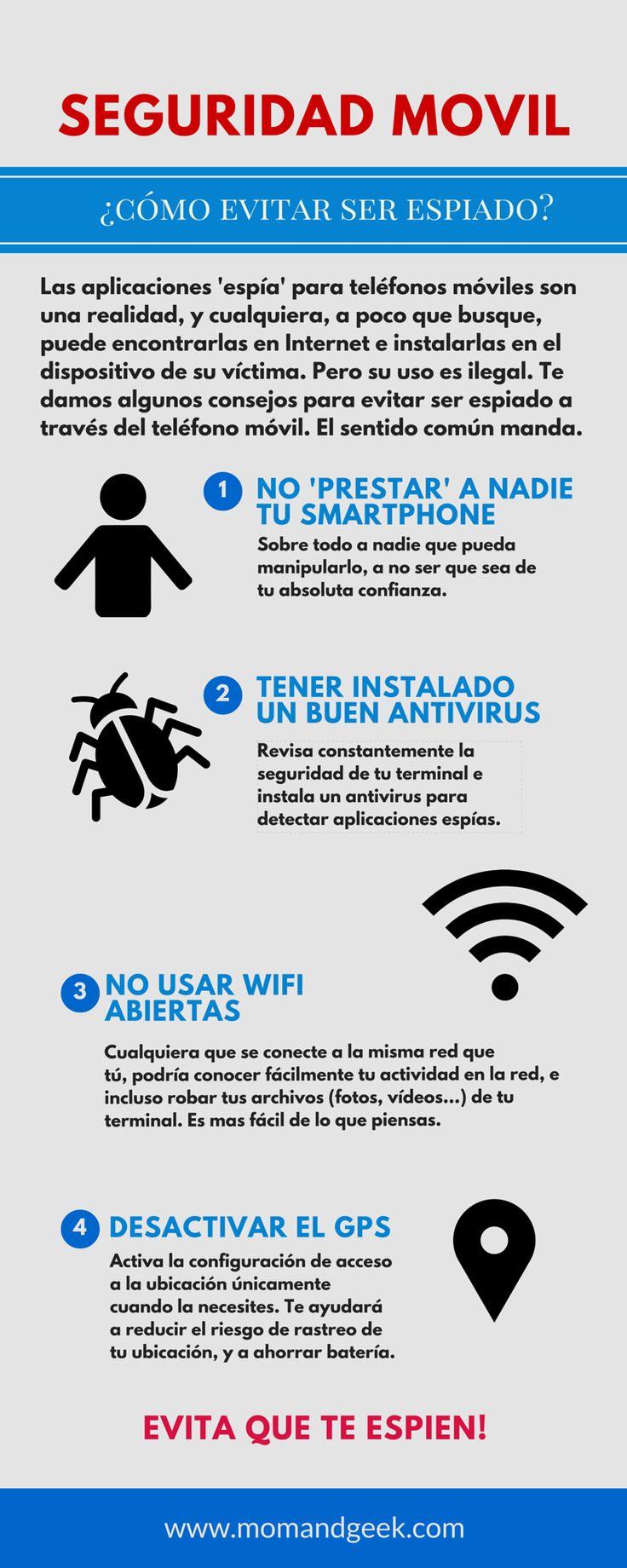 Algunos consejos para evitar ser espiado desde nuestro móvil