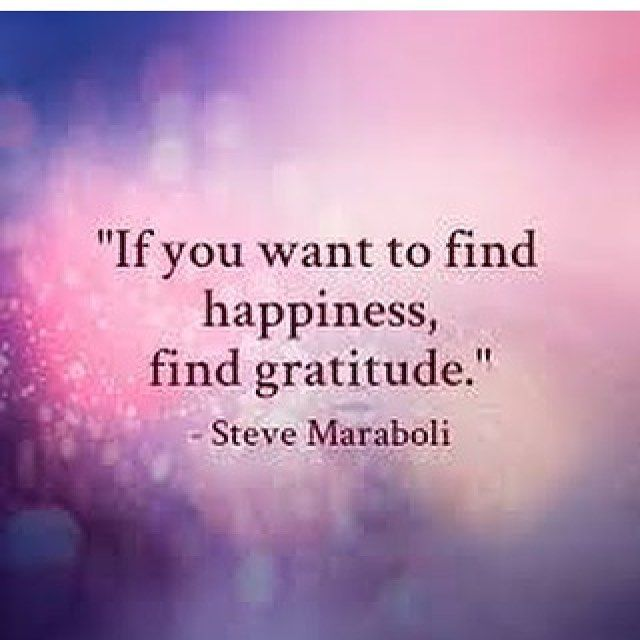 Find depth of the things you have to be grateful for it will liberate you