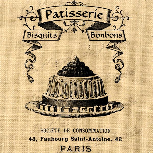 vintage french patisserie signs - Google Search