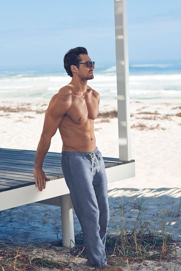New || David Gandy for @M&S #GandyForAutograph Beachwear Collection SS16