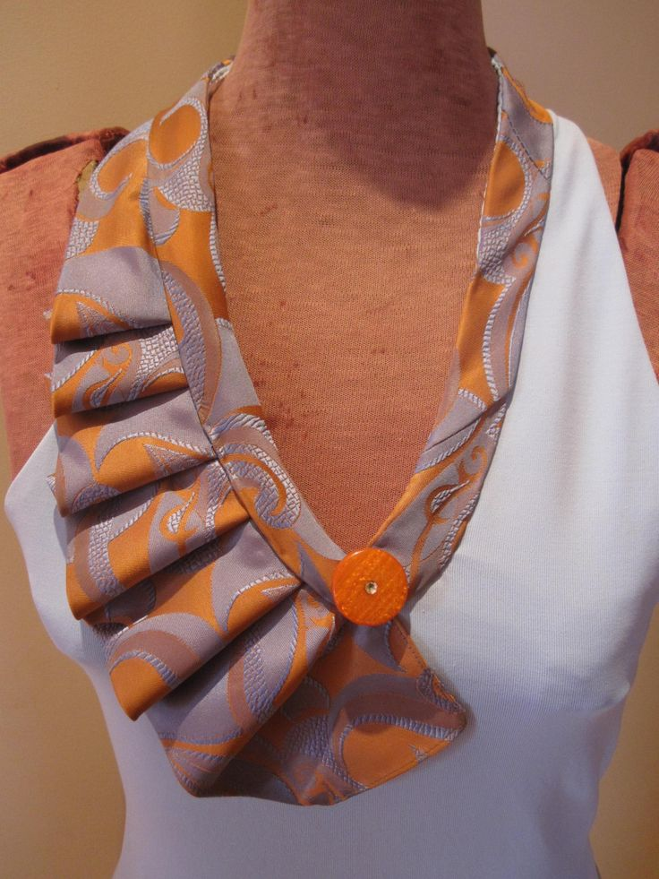 Necklace made from neckties