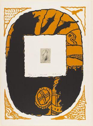 Pierre Alechinsky. Darmstadt. (1974)
