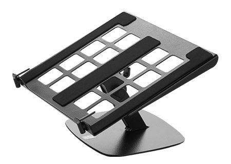 Suporte Orus LD-5 Suporte para Notebook cod- TOR1015 O Suporte para notebook Orus LD-5 possui ajuste de inclinação do suporte com as próprias mãos, posicionando a tela do notebook na altura mais confortável. Instalado sobre a mesa, permite regulagem milimétrica. Possui ajuste de inclinação com as próprias mãos; Superfície com abertura para melhor ventilação do notebook; Trava que proporciona maior segurança. Suporte para notebook fabricado totalmente com tubo e chapa de aço carbono com…