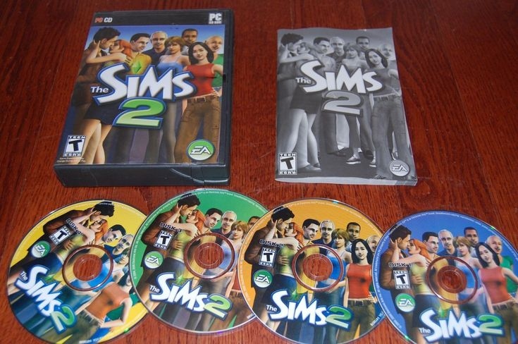 The Sims 2 PC Game 2005 Windows Computer EA Games