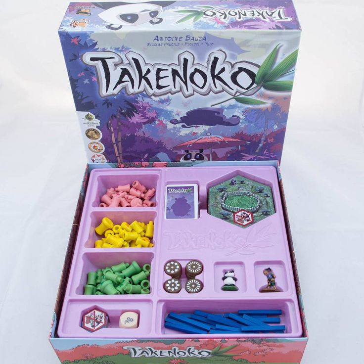 It's fun growing bamboo gardens in Takenoko. #takenoko #bamboo #boardgames #matagot #brætspil #brädspel  #brettspill