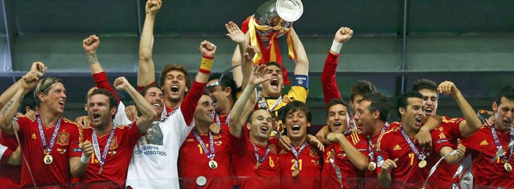 Spain are the Euro Champions!! Simply the best!
