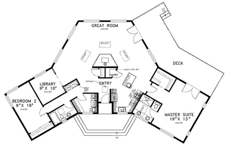 Main floor weird house plans pinterest house plans Weird floor plans