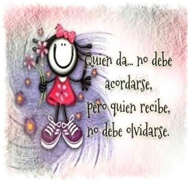 """Es de bien nacido ser agradecido "" #iluminatuparte #frases"
