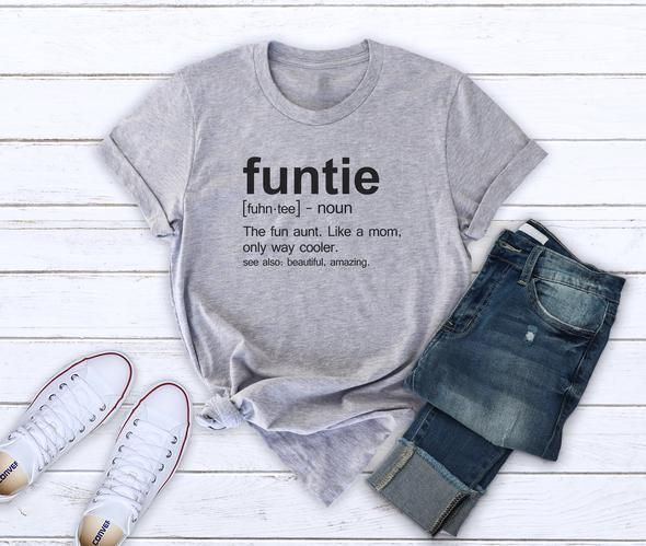 fc94de63da Funtie shirt auntie tshirt famiy gifts funny sayings tshirt birthday gifts  aunt saying shirt auntie tees fashion auntie lover gifts ideas