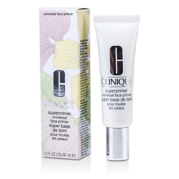 Clinique SuperPrimer Universal Face Primer - # Universal (Dry Combination To Oily Skin) 30ml/1oz in 2020   Oily skin, Color correcting primer, Dry sensitive skin