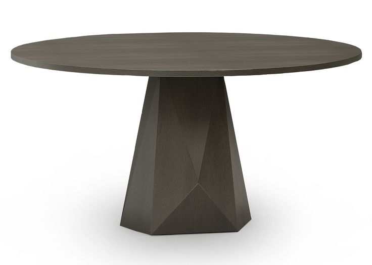 TOP PICK by Lisa Ferguson www.lisafergusoninteriordesign.com >>WOODLAND Helios Dining Table 970 Angular, transitional dining table introduction in our refined, wire-brushed Antwerp Ash finish on walnut. 30 h 23w (base) 60 dia. #HPmkt