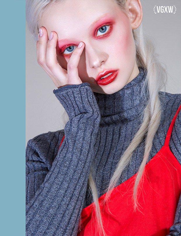 VGXW Magazine: Asya by Evgeny Sharapov - A fun and creative fashion editorial