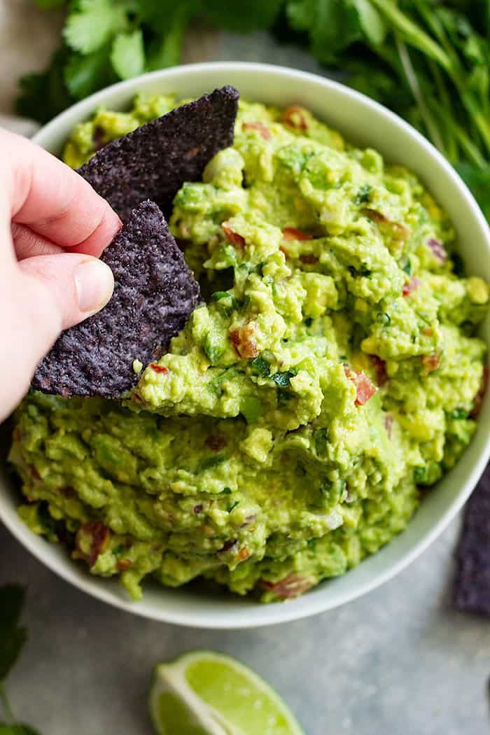 Can You Substitute Lime For Lemon In Guacamole Homemade Guacamole Recipe Countryside Cravings Homemade Guacamole Guacamole Recipe Appetizer Recipes