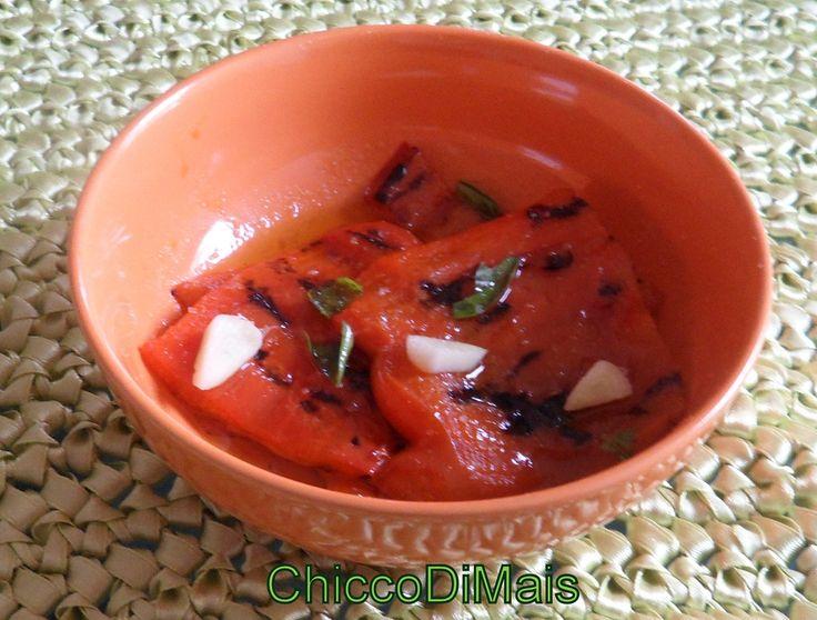 peperoni grigliati  http://blog.giallozafferano.it/ilchiccodimais/peperoni-grigliati/