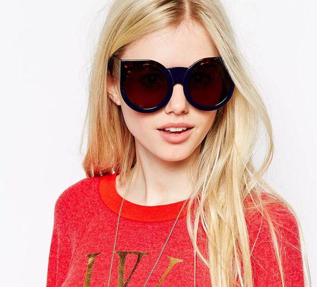 Wildfox Granny Oversized Trendy Sunglasses 2016