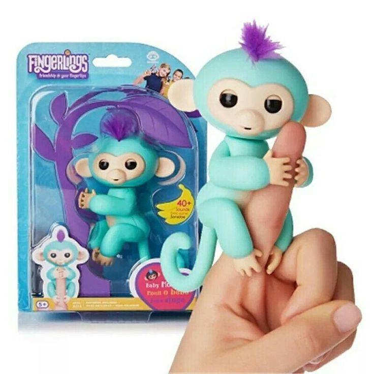Акційна Ціна 590 грн Інтерактивне мавпеня від американської фірми Wowwee Интерактивная ручная обезьянка Wow Wee- милая и забавная обезьянка которая обязательно удивит вас и вашего малыша! Обезьянка выполнена на базе последних разработок в мире игрушечной робототехники обязательно удивит и очарует вас!  Крошка Софи обладательница красивой белой шкурки  прирожденная гимнастка обожающая висеть вверх ногами и очень любит обниматься.  Обезьянка не оставит равнодушным к своим проделкам ни одного…