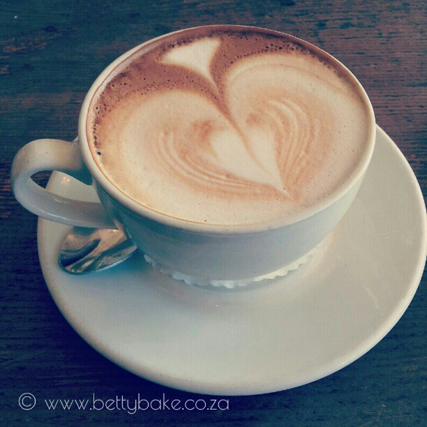 coffee at olympia cafe in Kalk Bay, cape town
