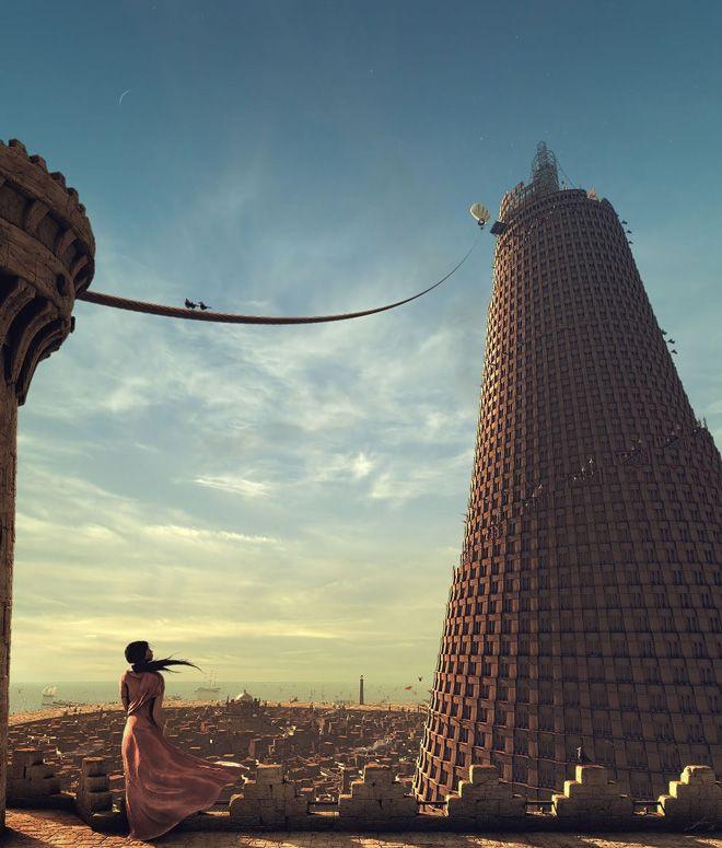 Soenke Maeter, Der Turm von Babylon