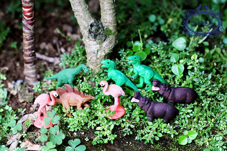 Tiny rubber creatures for terrarium accessories. Follow Terrariums by Adele on Facebook.