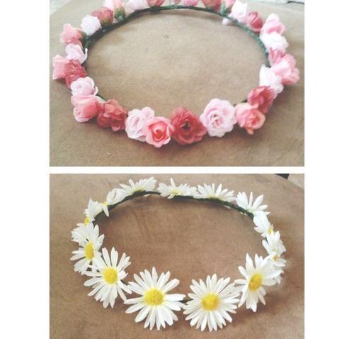 Garotas Descoladas: Diy: Coroa de flores