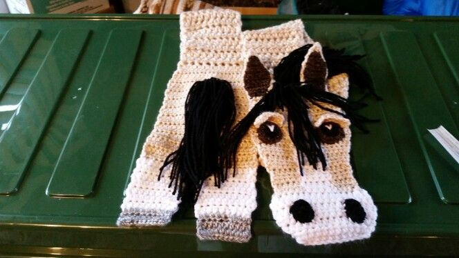 Spirit scarf #horses #crafter #countrygirl #crafter #mustanger