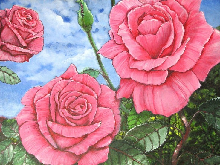 roses by ~pavalo on deviantART  .Sold to a private collector