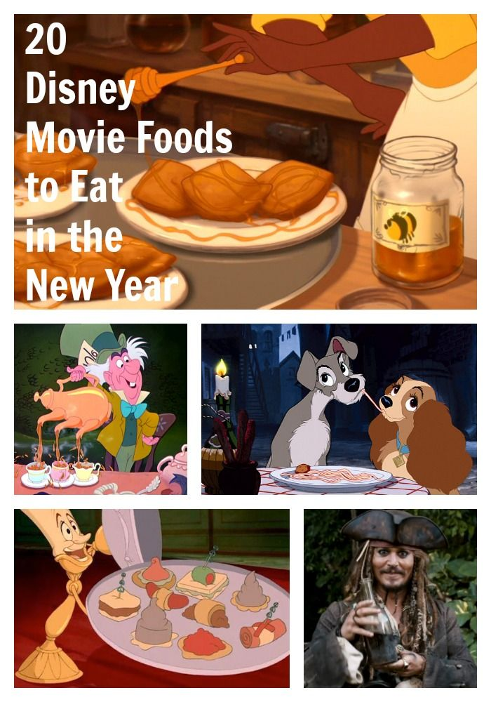 20 Disney Movie Foods to Eat in the New Year