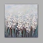 Handgemalte Abstrakt Blumenmuster/Botanisch Horizontal,Modern Ein Panel Leinwand Hang-Ölgemälde For Haus Dekoration 2017 - €48.99