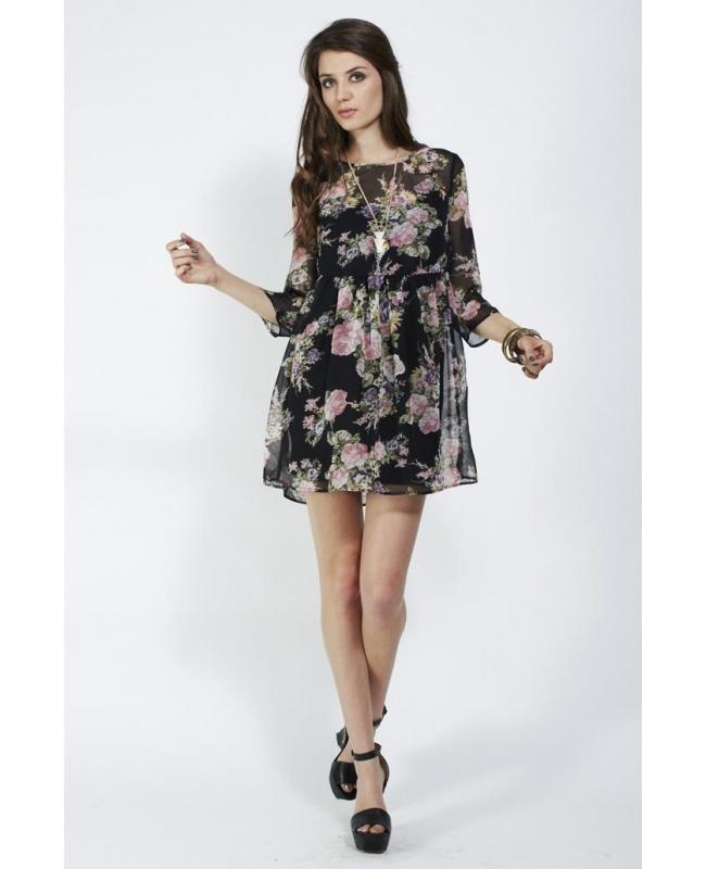 Ladakh Gardenia dress