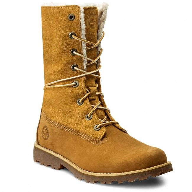 Trapery Timberland 6 In Wp Shearling Bo A156n Wheat Timberland Hiking Boots Boots Timberland Boots