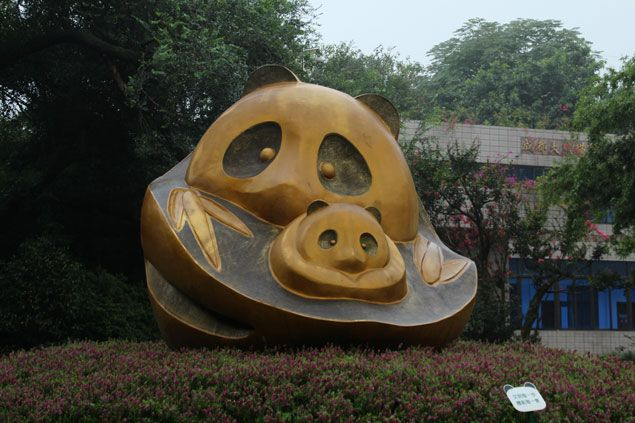 Bienvenidos al centro de Osos Panda