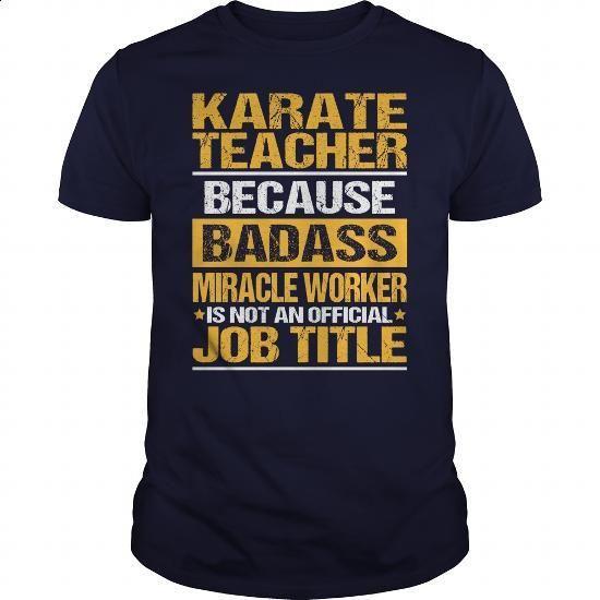Awesome Tee For Karate Teacher - #dress #womens hoodies. SIMILAR ITEMS =>…
