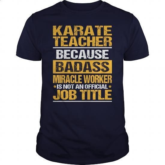 Awesome Tee For Karate Teacher - #dress #womens hoodies. SIMILAR ITEMS =>…