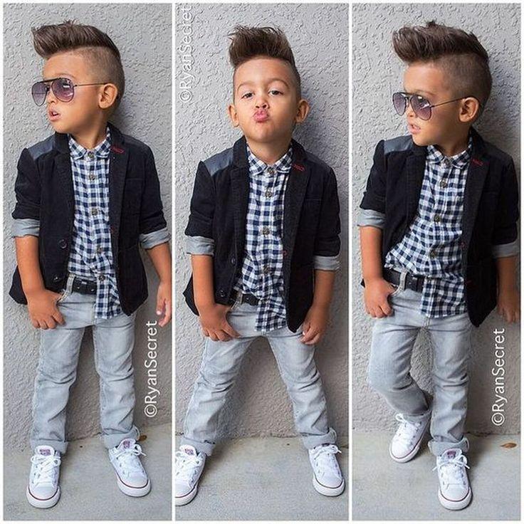 Cool kids & boys mohawk haircut hairstyle ideas 16