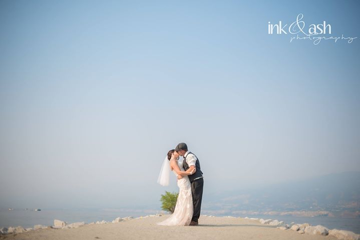 Outdoor wedding photo shoot. Photo by Ink and Ash Photography