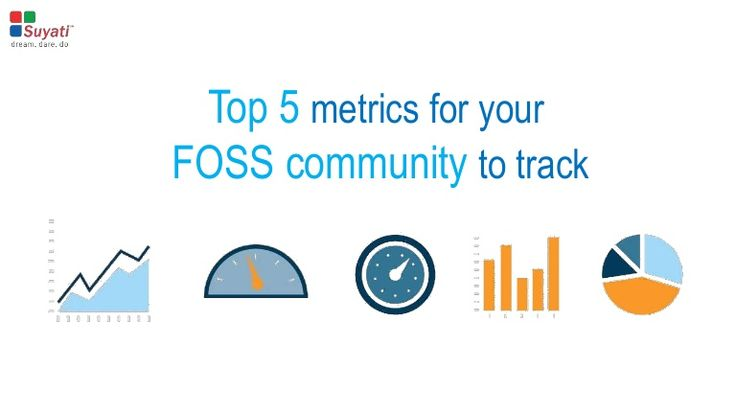 Metrics have indisputable significance when it comes to Free and Open Source Software (FOSS) projects since it offers a situational awareness of the open source community, thus letting us identify what is working and what needs to be improved or fixed. Let us have a look at the top 5 metrics for your FOSS community to track.