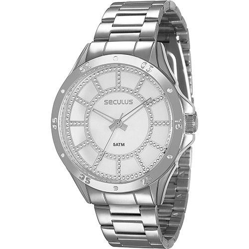 Shoptime Relógio Feminino Seculus Analógico 28454l0svns2 - R$79,90