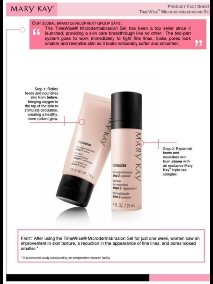 mary kay microdermabrasion instructions