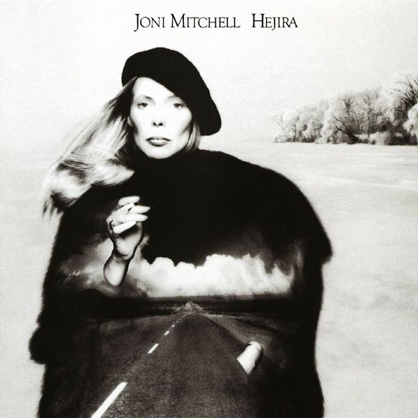 Hejira by Joni Mitchell (1976) | Community Post: 42 Classic Black And White Album Covers