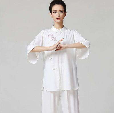 #Chinese kung fu tai chi #uniform women's #martial arts clothing wushu taiji suit,  View more on the LINK: 	http://www.zeppy.io/product/gb/2/201512616817/