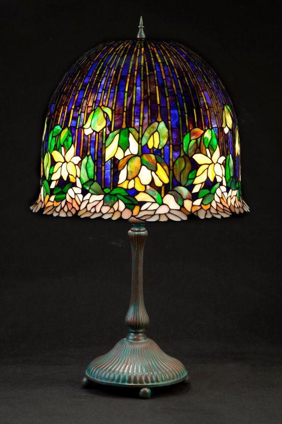 Bedside Lamp Stained Glass Lamp Tiffany Lamp Standing