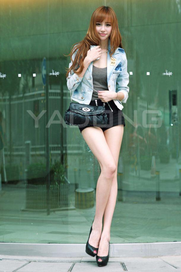 Sexy Asians Short Skirt 98