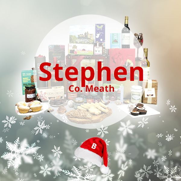 Congratulations to our Luxury Christmas Hamper Winner as chosen on Facebook Live - Stephen! 🎅