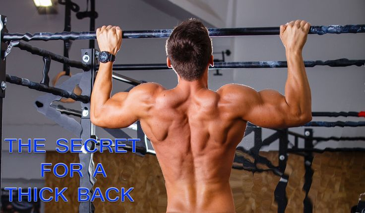 THE SECRET FOR A THICK BACK!