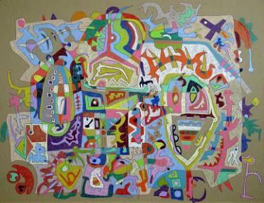 "Saatchi Art Artist Patrick  Wachtl; Drawing, ""Shifting Horizons"" #art"