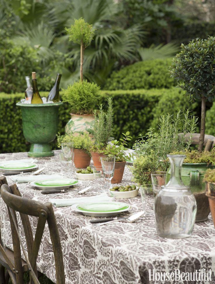 Rearrange your herb garden.