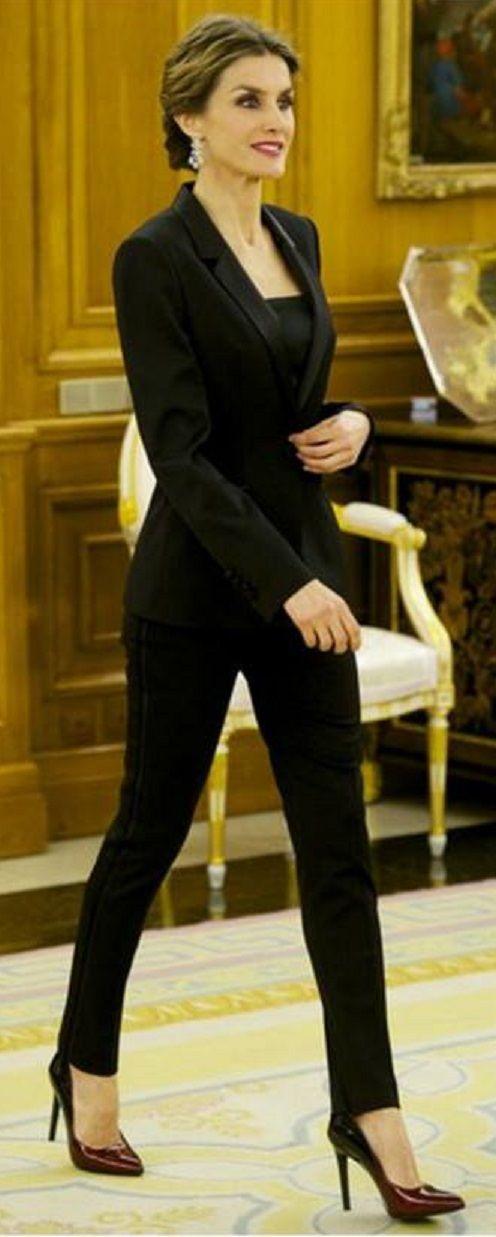 Letizia Ortiz Rocasolano - the Queen of Spain