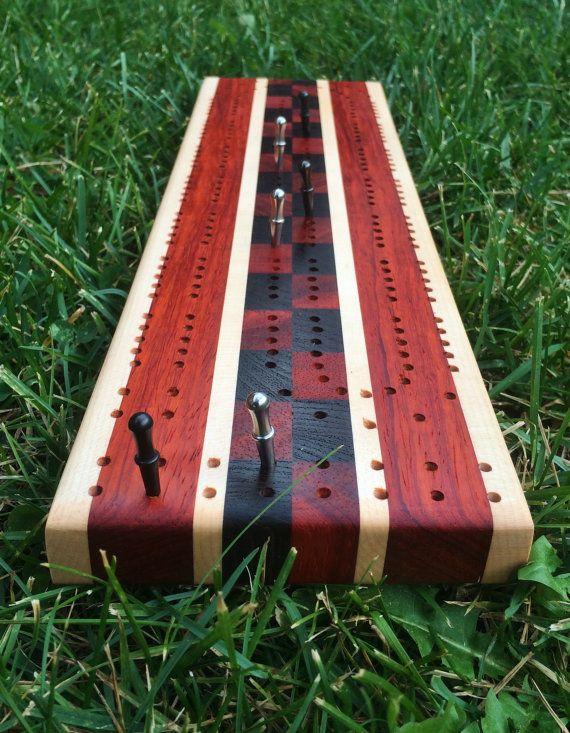 Cribbage Board Handmade                                                                                                                                                                                 More