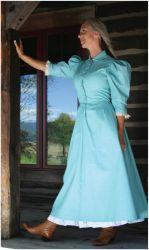 Homestead Dress, Old West Dresses in Womans Western Wear by Cattle Kate