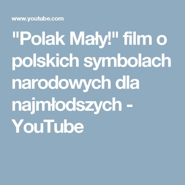 """""""Polak Mały!"""" film o polskich symbolach narodowych dla najmłodszych - YouTube"""